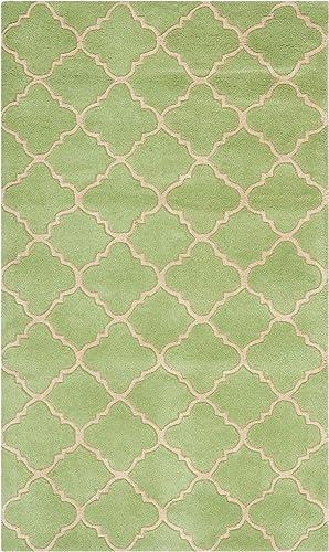 Safavieh Chatham Collection CHT935B Handmade Green Premium Wool Area Rug 3' x 5'
