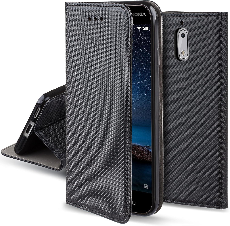 Moozy Funda para Nokia 6, Negra: Amazon.es: Electrónica