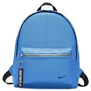 Nike Classic Mochila niño, Niño, BA4606-412, University Blue/Black/Binary Blue, 33 cm x 25.5 x 10 cm: Amazon.es: Deportes y aire libre