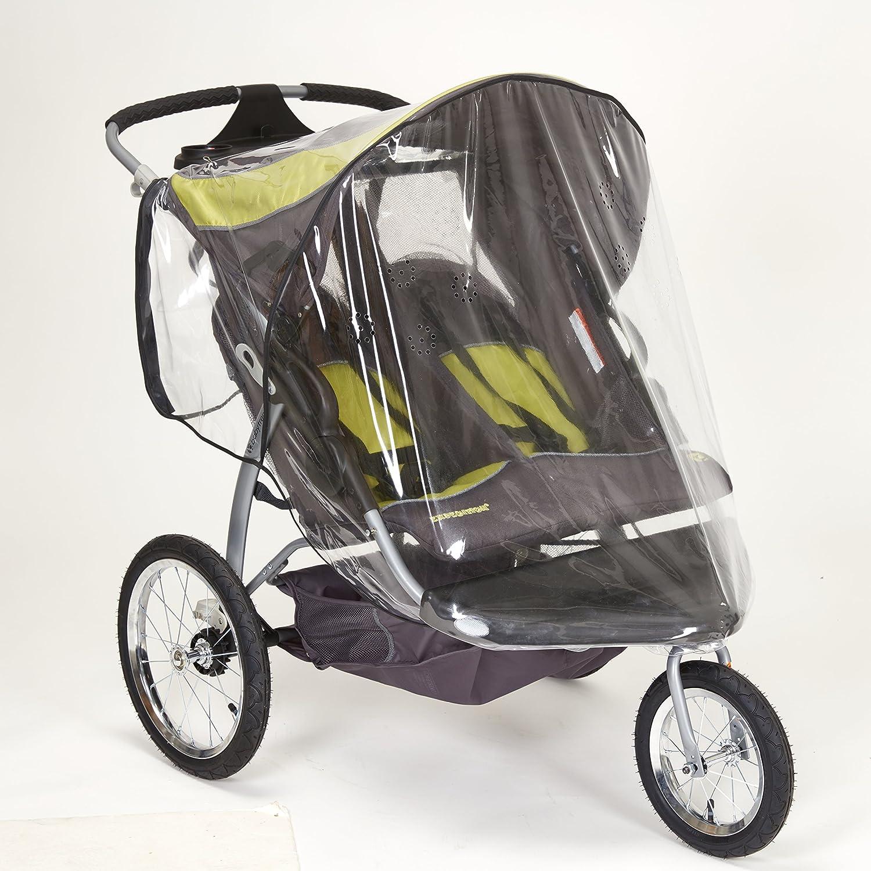 Sasha Kiddie BT - 3R Baby Trend Expedici-n Doble Jogger con giratorio de la rueda delantera