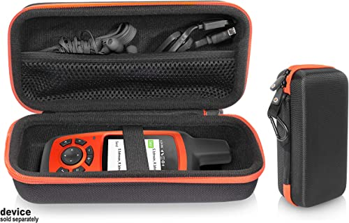 getgear GPS Unit Case for Garmin inReach Explorer , Handheld Satellite Communicator, Built in mesh Accessory Pocket, Elastics Secure Strap