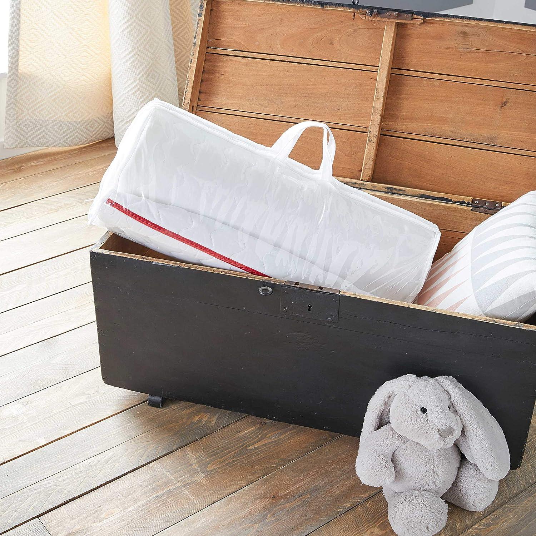 Fabrication fran/çaise D/éhoussable Matelas de Voyage pour b/éb/é 60x120cm Babysom Roul/é Epaisseur 5cm