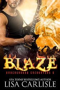 Blaze: a gargoyle shifter rockstar romance (Underground Encounters Book 6)