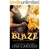 Blaze: a gargoyle shifter rockstar romance (Underground Encounters Book 7)