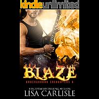 Blaze: a gargoyle shifter rockstar romance (Underground Encounters Book 7) book cover