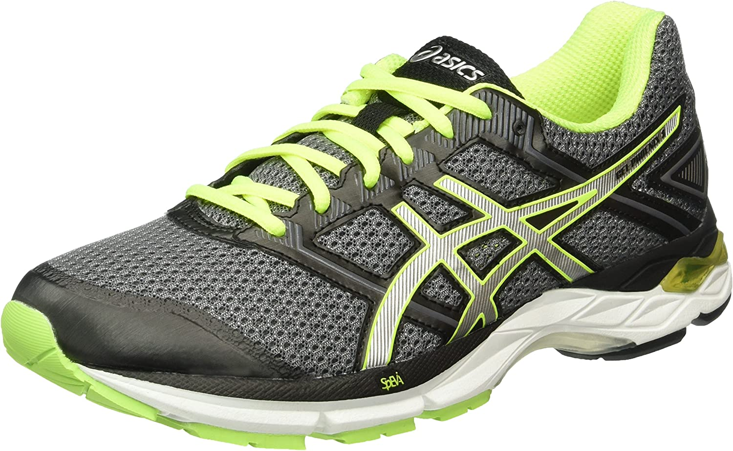 Asics Gel-Phoenix 8, Zapatillas de Running para Hombre, Gris (Carbon/Silver/Safety Yellow), 44.5 EU: Amazon.es: Zapatos y complementos