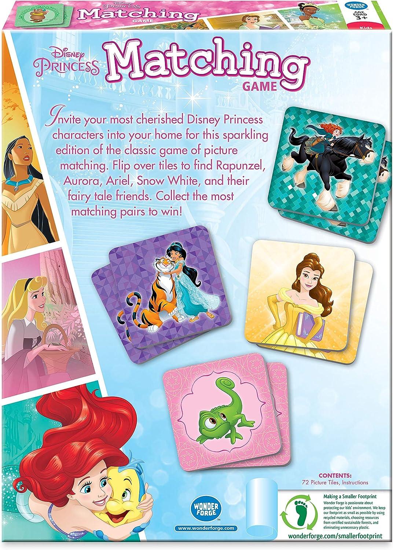 Disney Princess Matching Game The Wonder Forge 01219