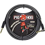 "Pig Hog PH3 High Performance 8mm 1//4/"" Guitar Instrument Cable 3 Feet Black"