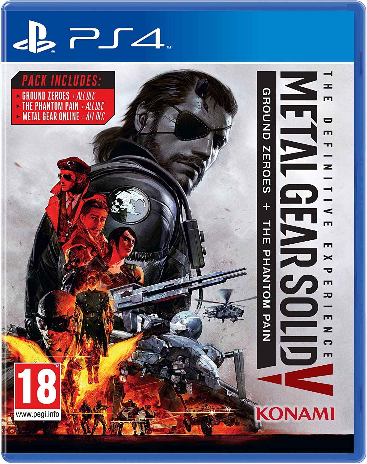 Metal Gear Solid V: The Definitive Experience [Importación Inglesa]: Amazon.es: Videojuegos