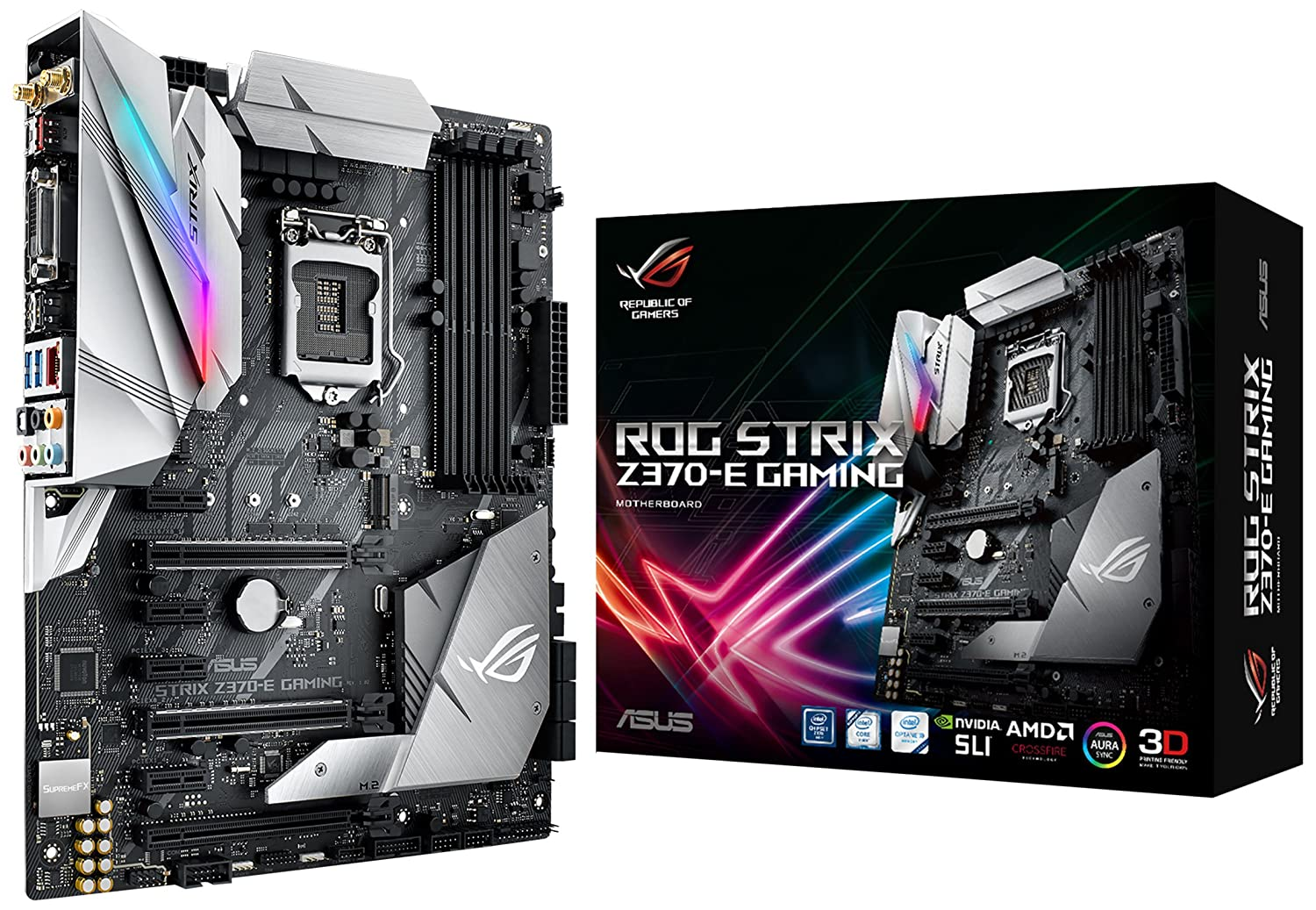T. Madre ASUS Intel Strix Z370-E LGA1151 Z370 DDR4
