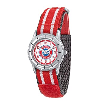Reloj De Pulsera Infantil FC Bayern Múnich + Gratis Pegatinas München Forever, Reloj, Reloj