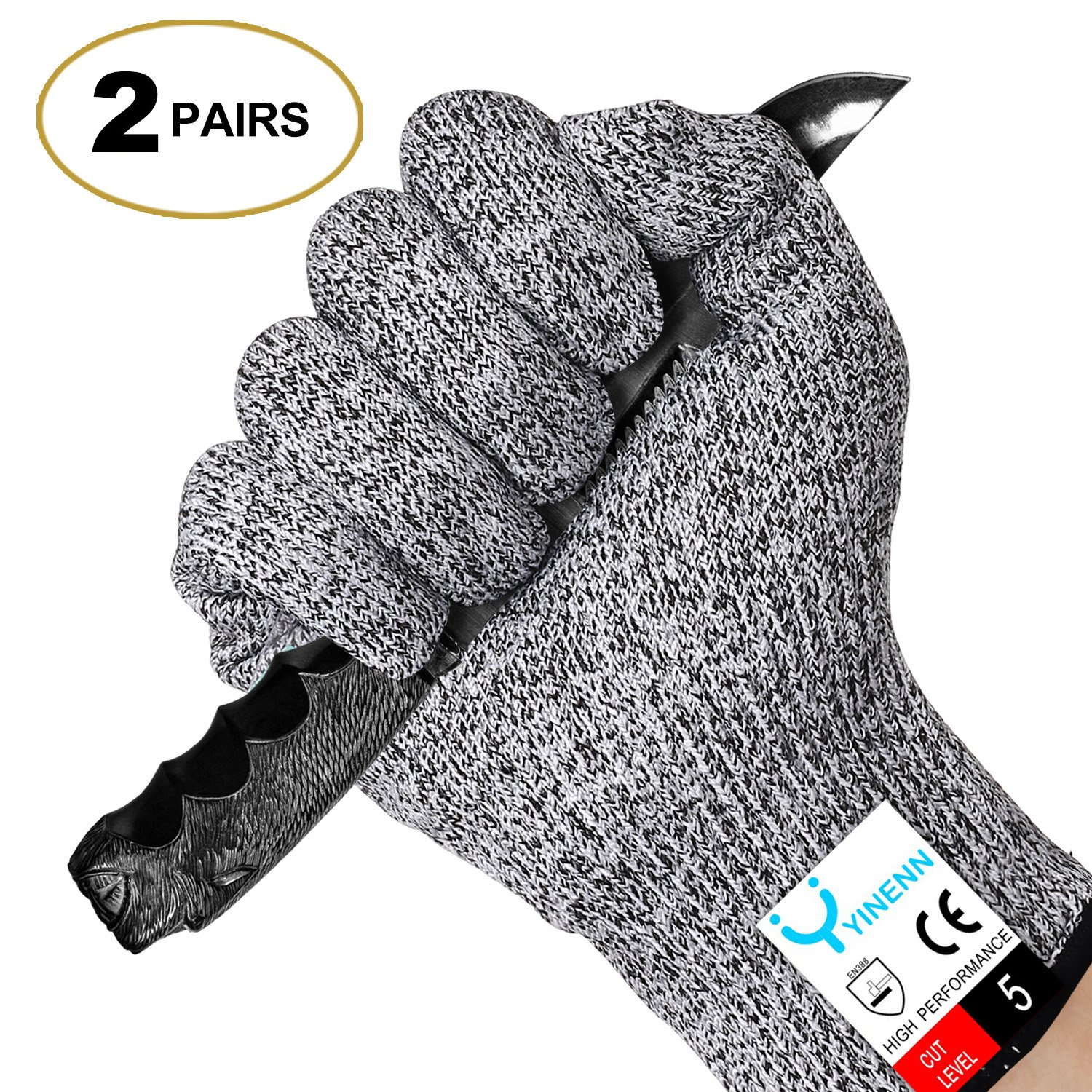 Cut Resistant Gloves Food Grade Level 5