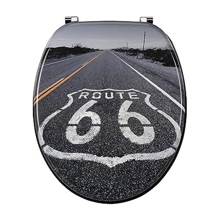 Alinéa Road Abattant Wc Route 66 Gris X376x60x400