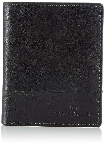 Tom Tailor Acc LUCA, Portemonnaies hommeNoirSchwarz (schwarz 60), 10x12x2 cm (B x H x T) EU