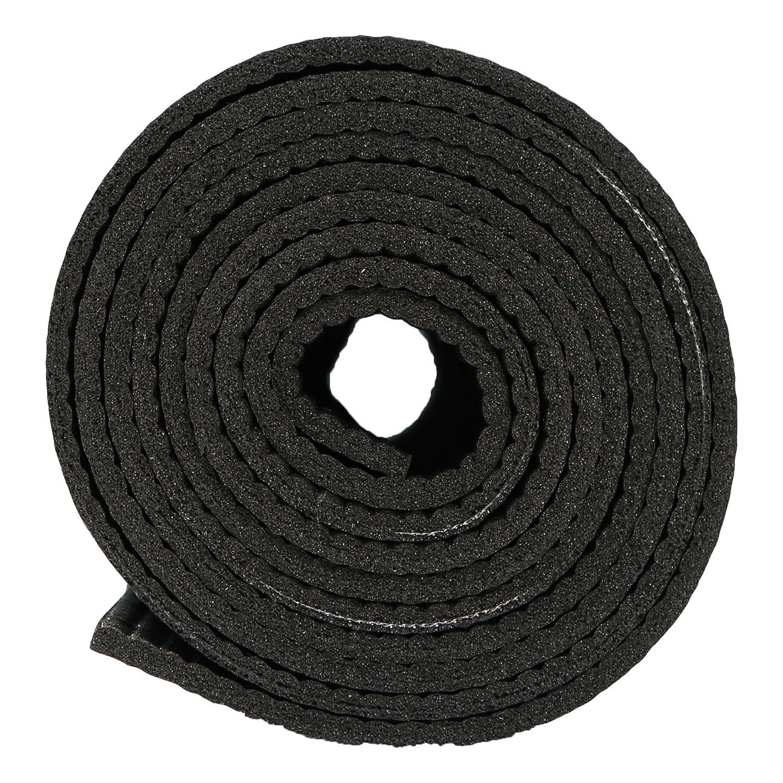 facile da arrotolare per facilitarne il trasporto nero Ultrasport Tappetino per allenamento antiscivolo e spazioso // tappetino per fitness pilates e ginnastica o base per massaggi utilizzabile anche come tappetino per yoga