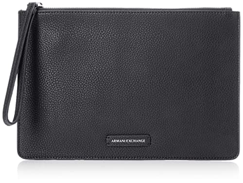 Armani Exchange - Big Pouch, Monederos Mujer, Azul (Navy ...