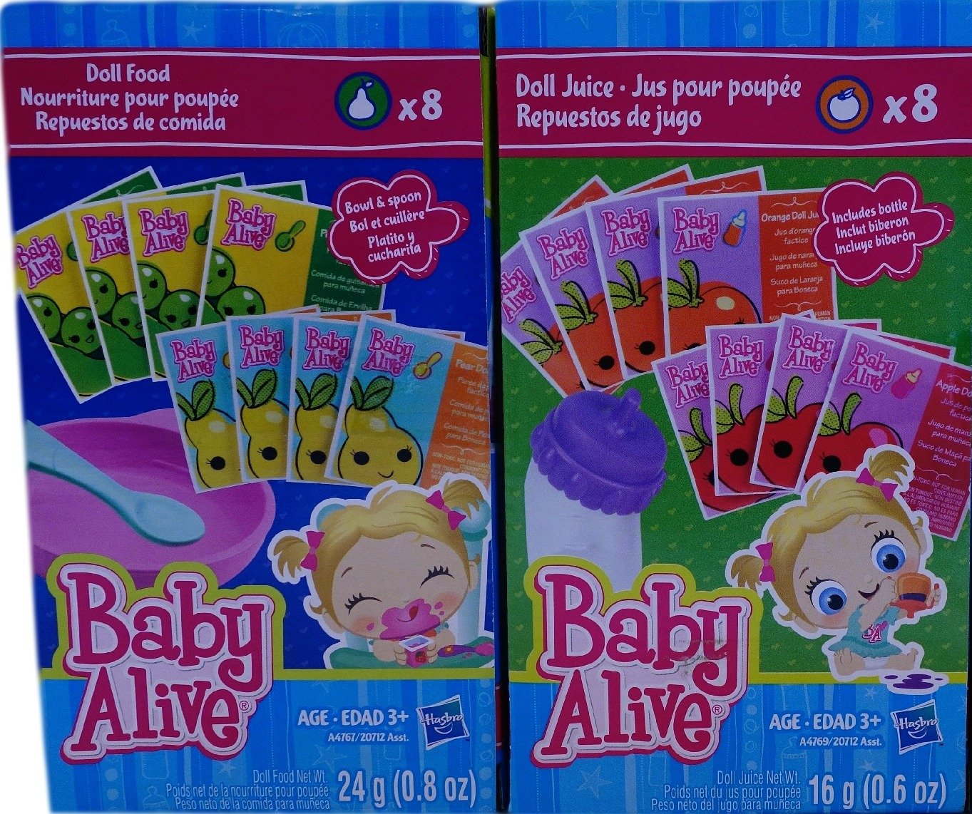 Baby Alive Food Packets Coloring Pages | Top Free ...