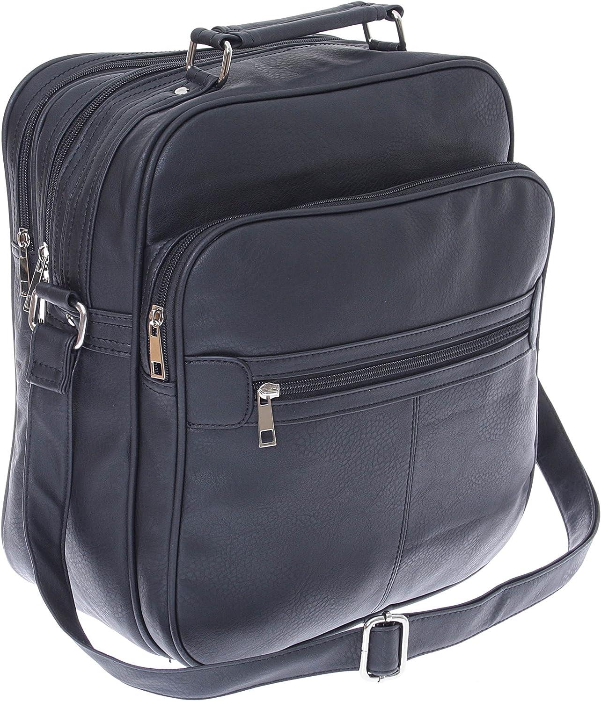 Herren Arbeitstasche XL Umhängetasche Schultertasche Flugumhänger Messenger Bag