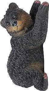 Design Toscano NG33988 Yonva, the Climbing Bear Sculpture,Single