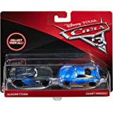 Disney / Pixar Cars 3, Jackson Storm and Danny Swervez, 1:55 Die-Cast Vehicle 2-Pack