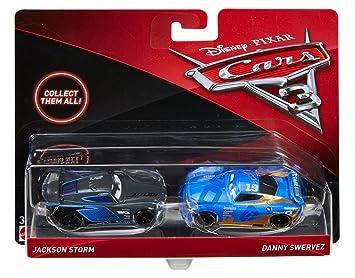 Amazon Com Disney Pixar Cars Jackson Storm And Danny Swervez