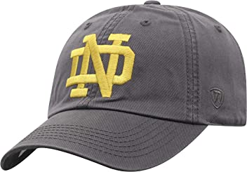 save off acebd 4a2e7 Top of the World NCAA Men s Hat Adjustable Relaxed Fit Charcoal Icon