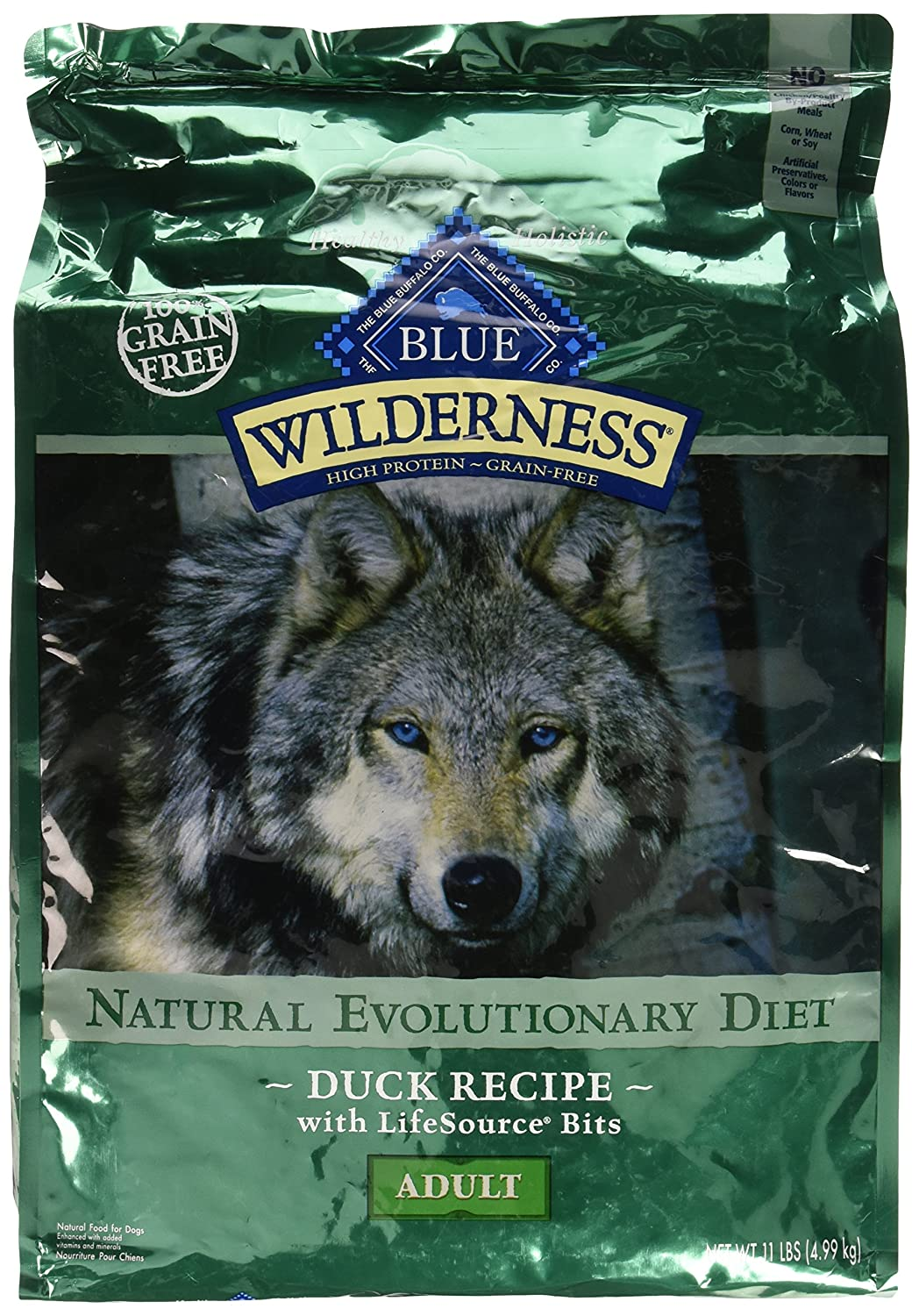 Blue Buffalo Wildness Duck Dry Dog Food