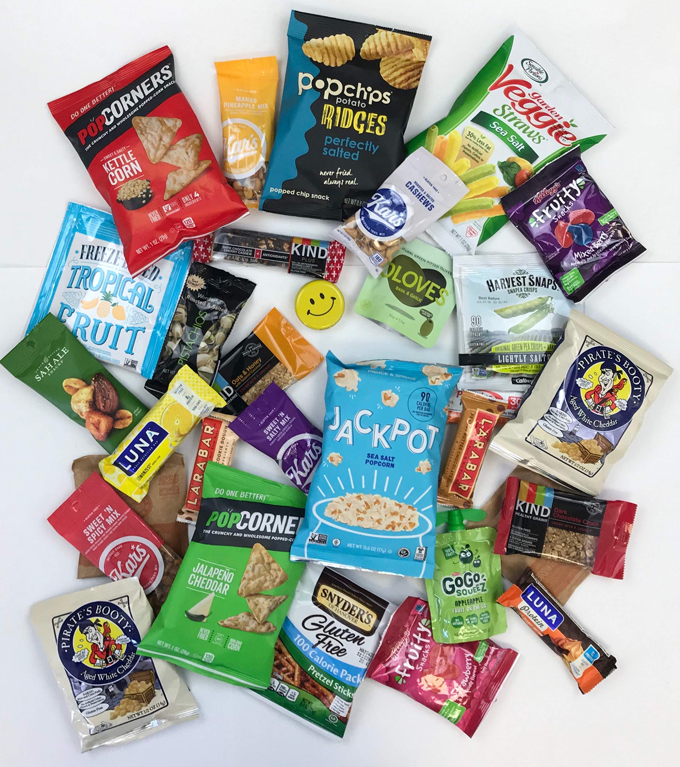 Premium Snacks Variety Pack Care Package - Huge 100 Count - the Perfect Gift Box for Office, College Students, Camp, Military - Individually Wrapped Chips, Cookies, Candy, More by SmallTown Table (Image #7)