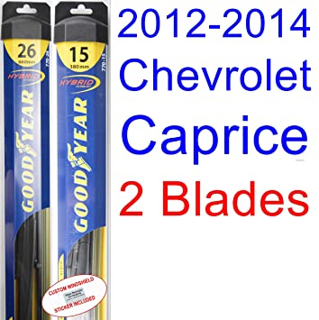 Amazon 2012 2014 Chevrolet Caprice Ppv Replacement Wiper Blade