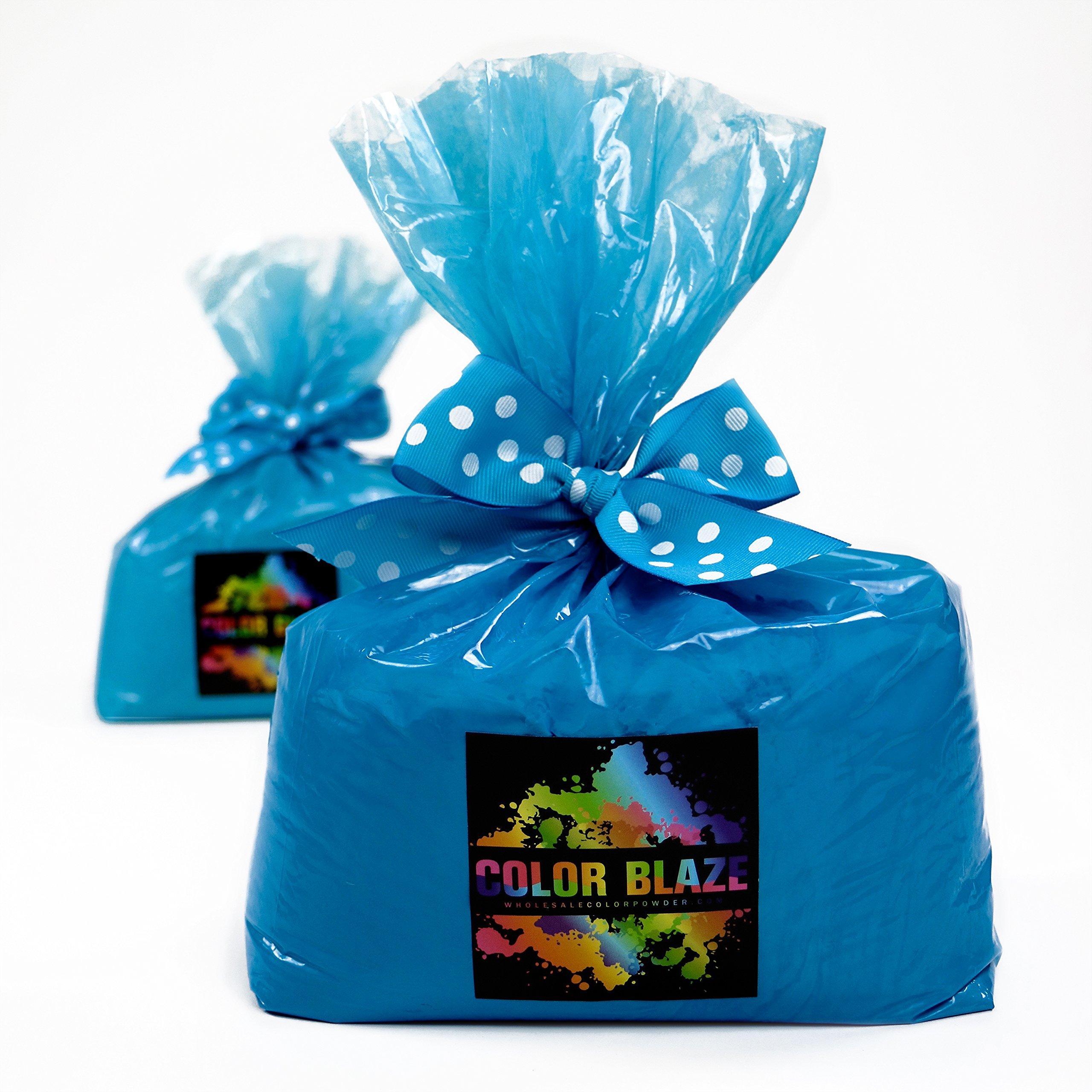 Gender Reveal Blue Color Powder 10 Pounds by Color Blaze Supply/Wholesale Color Powder