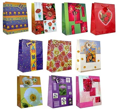 Taunus Grußkarten 99-9080 - Lote de bolsas de regalo (10 ...