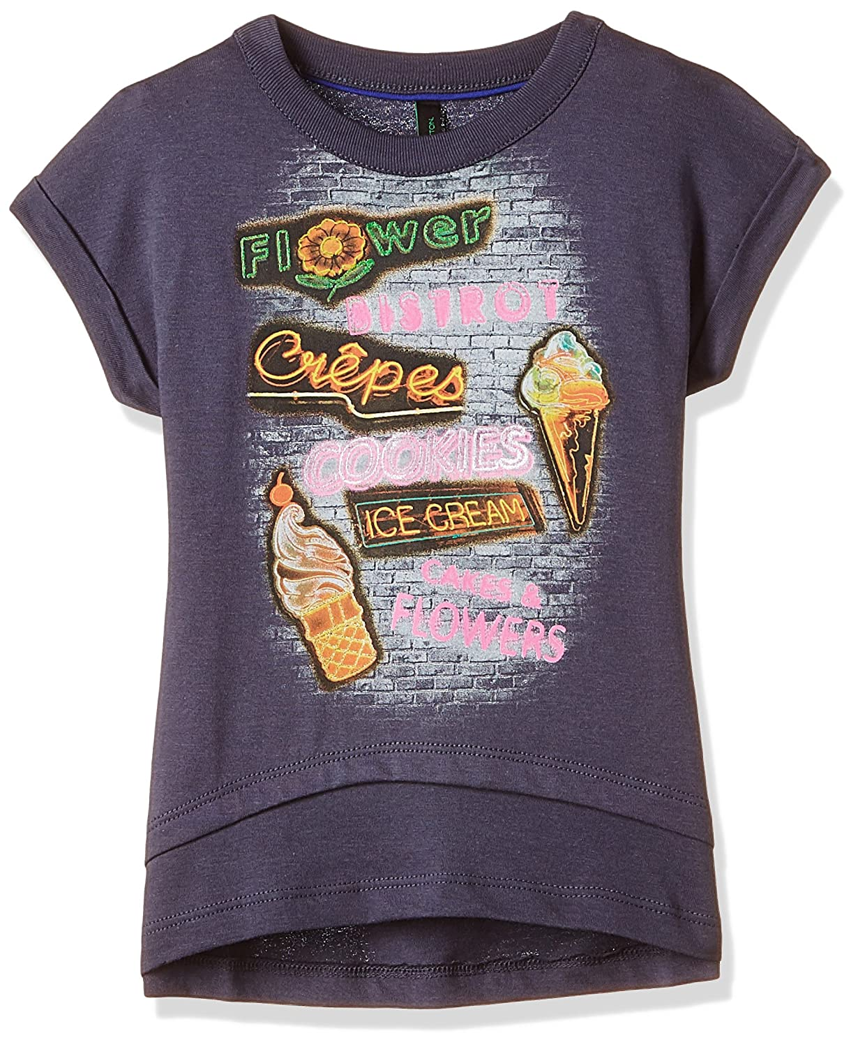 Of T United Benetton Colors Shirt Baby Girls' DEHI29W