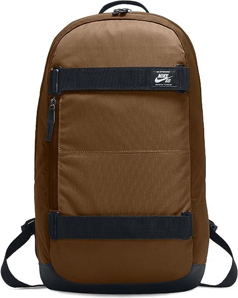 045920aa9fa6 Nike SB Courthouse Skateboarding Laptop Backpack - Ale Brown Black White
