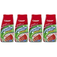 Colgate Kids 2-in-1 Toothpaste, Watermelon Burst, 4.6 Ounce, 4 Count