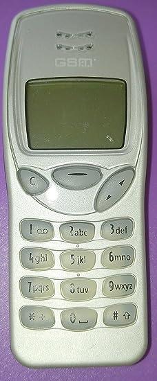 Nokia 3210, Designergehäuse Silber, Handy mit neuem akku, ladekabel, ohne simlock technisch top, wie neu, technisch ebenfalls