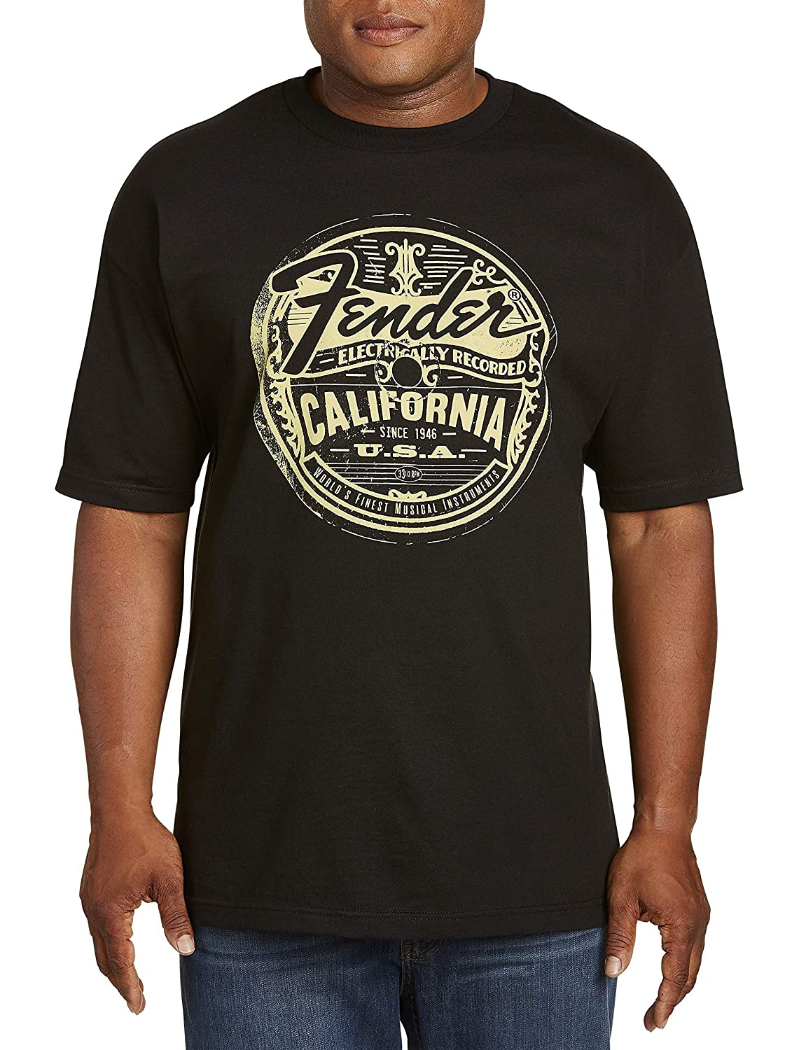 04924d4efd6 Amazon.com  True Nation by DXL Big and Tall Fender California Graphic Tee   Clothing