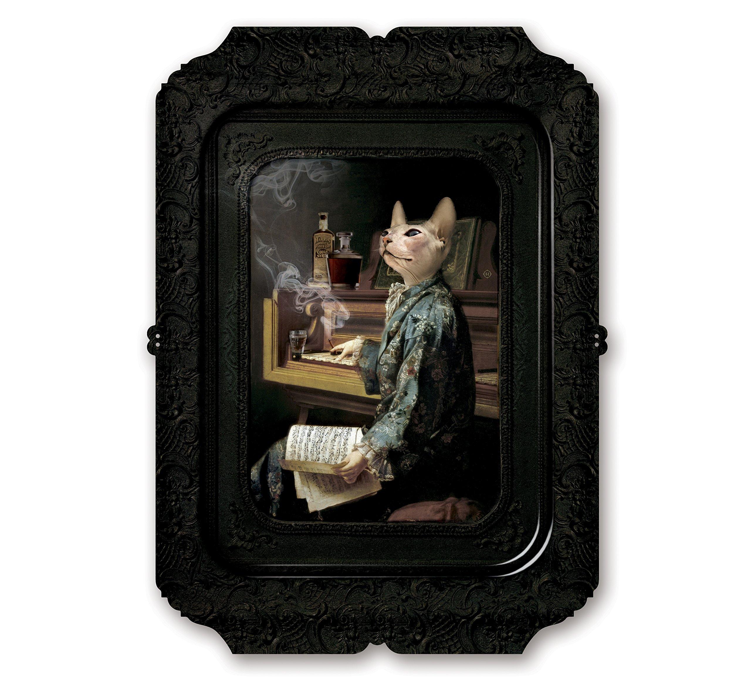 Lazy Victoire - Galerie De Portraits - Visconti - Surreal Wall Tray Art Masterwork by iBride