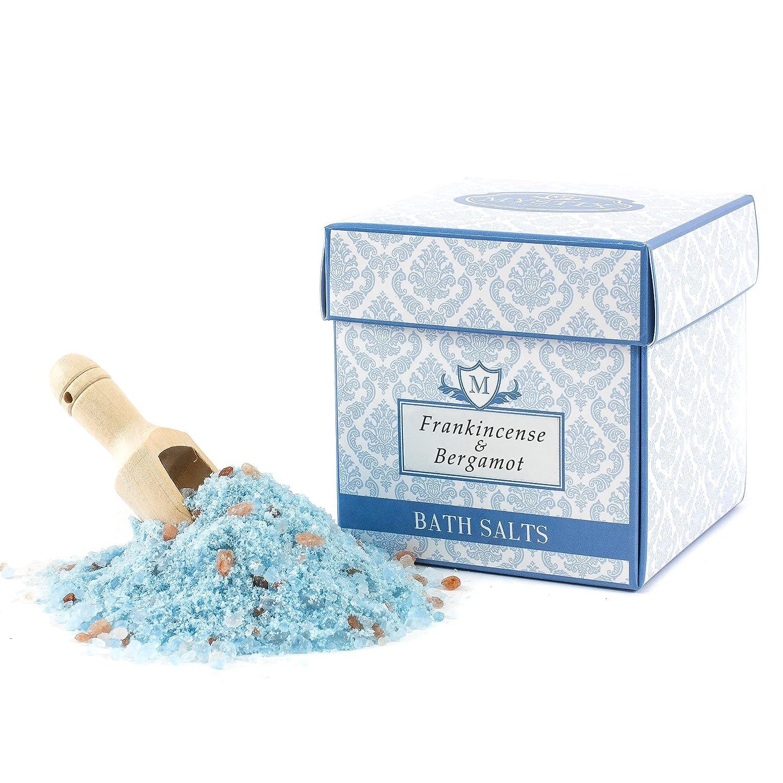 Mystix London | Frankincense & Bergamot Scented Bath Salt - 350g