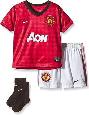 NIKE Trikot Manchester United Infants Kit - Camiseta de ...