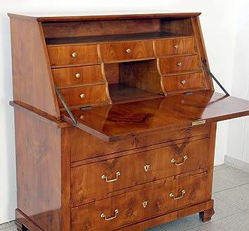 kafka antik biedermeier stand sekretar kirschbaum vollholz um 1850 wohnfertig