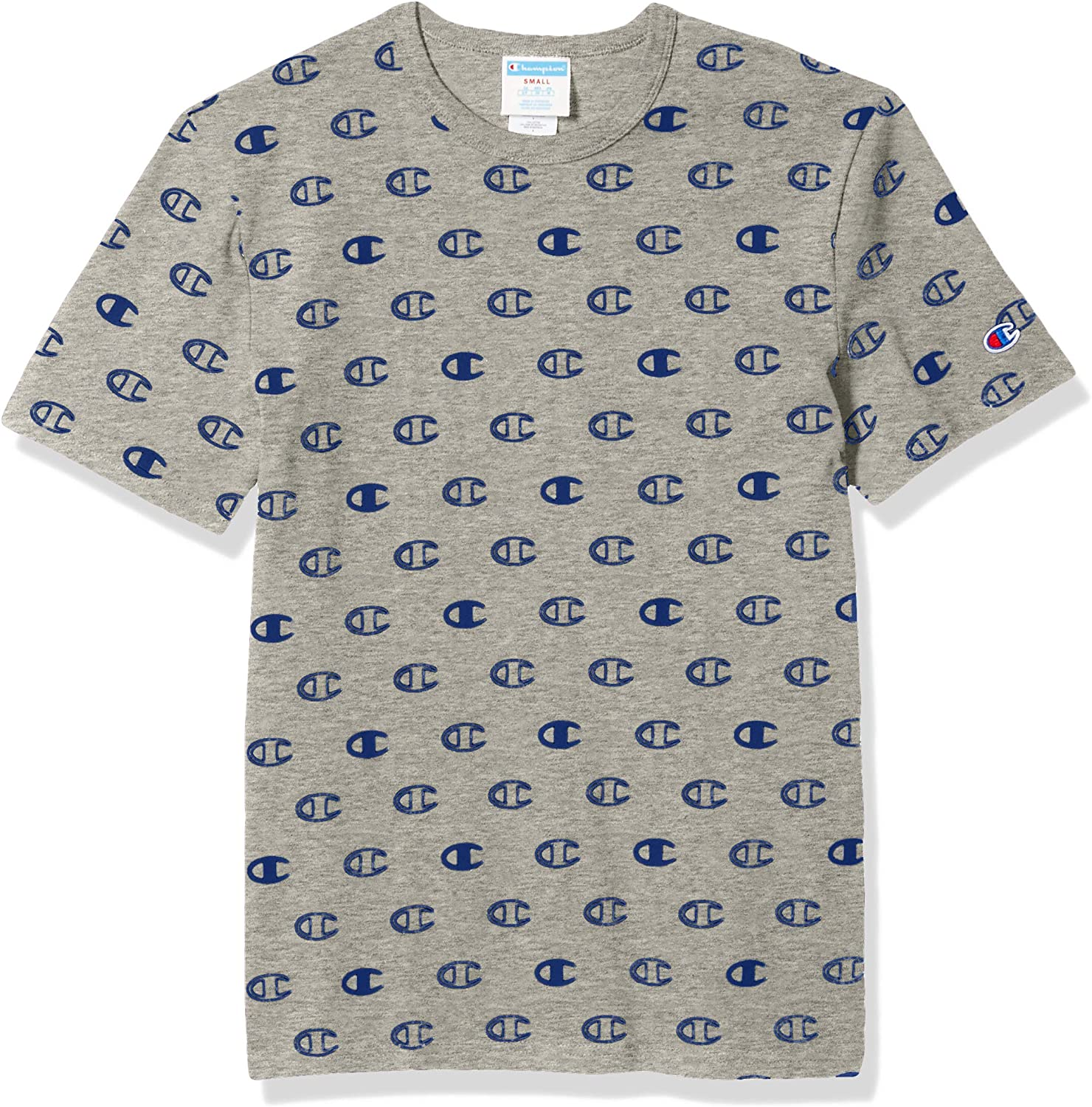 Champion Mens Heritage Short Sleeve Tee with Tossed C Logos T-Shirt