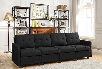 Dazone Conjunto Modular de sofá seccional, Juego de Cojines ...
