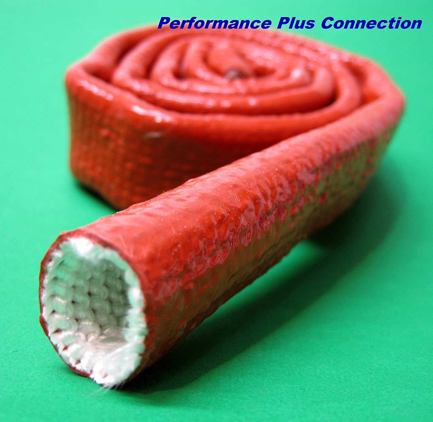 Vulcan Fire Sleeve, Fire Braid Flame Shield 5/8 X 3ft 10AN Performance Plus Connection