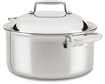 3ab72b441a11 Image Unavailable. Image not available for. Color: All-Clad SD755086 18/10 D7  Stainless Steel 7-Ply ...