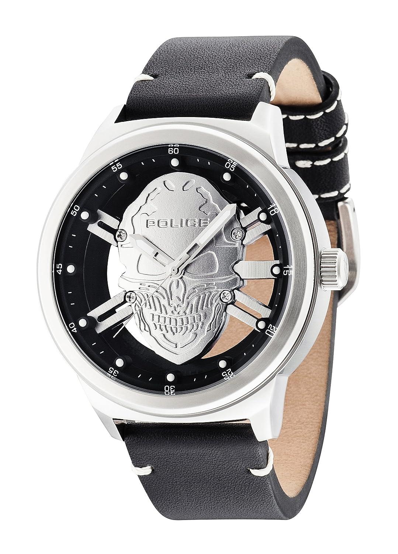 Police Herren-Armbanduhr Predator Analog Quarz 14685JS-04