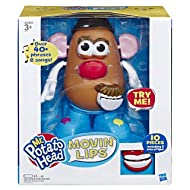 Mr Potato Head Playskool Movin' Lips Electronic Interactive Talking Toy for Kids Ages 3 & Up