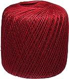 Coats Crochet Aunt Lydia's Crochet, Cotton Classic Size 10, Cardinal