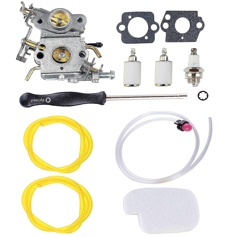 Amazon.com: Podoy P3314 Carburetor for Poulan Chainsaw Parts ...