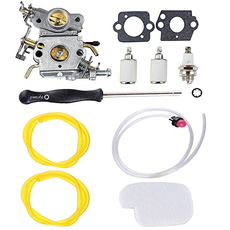 podoy p3314 carburetor for poulan chainsaw parts 545070601 air fuel filter  with adjustment tool tune-