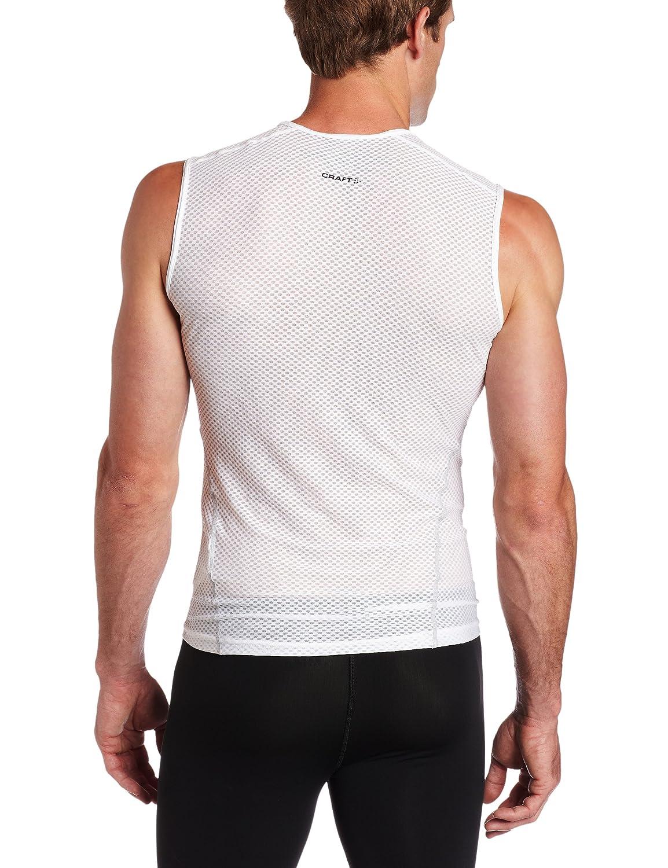 White, Small Craft Mens Cool Mesh Superlight Sleeveless Shirt